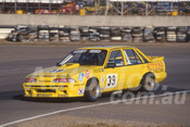 88095 - Steve Reed / Trevor Ashby,  VL Commodore - Adelaide 1988 - Photographer Ray Simpson
