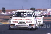 88098 - Andrew Bagnall,  Ford Sierra RS500 - Calder 1988 - Photographer Ray Simpson