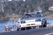 88102 - Steve Williams,  VK Commodore - Lakeside 1988 - Photographer Ray Simpson
