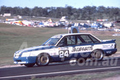 88103 - Gerald Kay,  VK Commodore - Lakeside 1988 - Photographer Ray Simpson