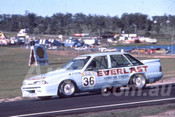 88105 - Bill O'Brien,  VL Commodore - Lakeside 1988 - Photographer Ray Simpson