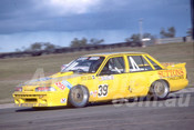 88110 - Steve Reed / Trevor Ashby,  VL Commodore - Oran Park 1988 - Photographer Ray Simpson