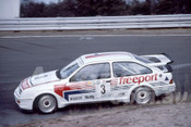 88114 - Tony Longhurst,  Ford Sierra RS500 - Synnons Plains 1988 - Photographer Ray Simpson
