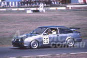 88117 - Robbie Francevic, Ford Sierra RS500 - Winton 1988 - Photographer Ray Simpson