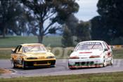 89059 - Riethmuller & Matt Wacker, VL Commodore SS - Winton 1989 - Photographer Ray Simpson