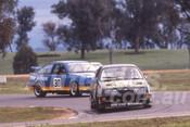 89061 - Robbie Francevic & Glenn Seton, Ford Sierra RS500 - Winton 1988 - Photographer Ray Simpson