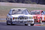 90026 - Phil Ward, Mercedes-Benz 190E  - Eastern Creek 1990 - Photographer Ray Simpson