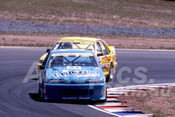 90027 - Terry Finnigan / Geoff Leeds, VL Commodore SS - Eastern Creek 1990 - Photographer Ray Simpson