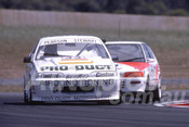 90028 - Bob Pearson, VL Commodore SS - Eastern Creek 1990 - Photographer Ray Simpson
