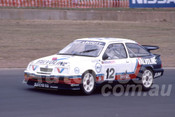 90029 - Ray Lintott, Ford Sierra RS500 - Eastern Creek 1990 - Photographer Ray Simpson