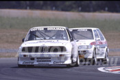 90030 - John Cotter / Peter Doulman, BMW M3 -  Eastern Creek 1990 - Photographer Ray Simpson
