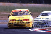 90031 - Kevin Waldock, Ford Sierra RS500 - Eastern Creek 1990 - Photographer Ray Simpson