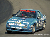 88119 - Garry Waldon - RX-7 Turbo - Amaroo 1988