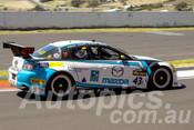 15739 - Shane Bradford / Phil Crompton / Michael Robinson / Shane Woodman  -  Mazda RX-8 - Bathurst 12 Hour 2015