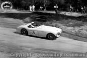 58105 - J. Roxburgh Austin Healey 100S -  Templestowe Hill Climb 1958