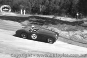 58109 - H. Evans  Austin Healey 100S -  Templestowe Hill Climb 1958