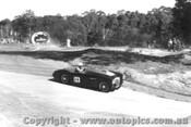 58110 - K. Dean  Austin Healey 100S -  Templestowe Hill Climb 1958