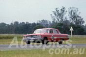 63043 - Lex Davison, Ford Galaxie - Warwick Farm 1963 - Photographer Peter Wilson
