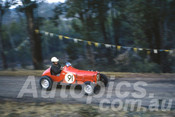 62017a - George Murray, Austin 7 - Australian Hillclimb Championships, Silverdale 1962 - Photographer Peter Wilson