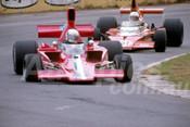 78652 - Warwick Brown, Lola T332 & John McCormack, McLaren M23 -  Tasman Series Oran Park 1986