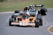 78658 - Peter Edwards, Lola T332 & Chris Featherstone, McRae GM1 -  Tasman Series Oran Park 1992