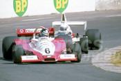 79658 - David Kennedy, Wolf-Cosworth WR3 & John McCormack, McLaren M23 - Oran Park 1979 - Photographer Neil Stratton