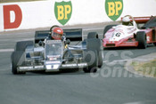 79659 - Graeme McRae, McRae GM3 & David Kennedy, Wolf-Cosworth WR3 - Oran Park 1979 - Photographer Neil Stratton