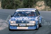 82114 - Dick Johnson, Ford Falcon - Amaroo Park 1982  - Photographer  Lance J Ruting