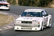 82116 - Fred Gibson, Nissan Bluebird - Amaroo Park 1982  - Photographer  Lance J Ruting