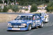 82121 - Dick Johnson, Falcon & Allan Grice, Commodore - Amaroo Park 1982  - Photographer  Lance J Ruting