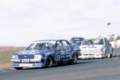 82122 - Dick Johnson, Falcon & Allan Grice, Commodore - Amaroo Park 1982  - Photographer  Lance J Ruting
