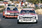 82126 - Peter Brock & Terry Finnagan, Holden Commodore - Amaroo Park 1982  - Photographer  Lance J Ruting
