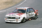 84090 - Peter Brock, Holden Commodore - Amaroo Park 1984 - Photographer Lance J Ruting