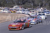 84091 - Barry Jones, Mazda RX7 - Amaroo Park 1984 - Photographer Lance J Ruting