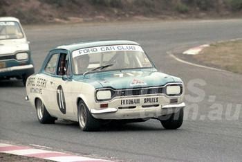 84096 - Darrel Berry, Ford Escort - Amaroo Park 1984 - Photographer Lance J Ruting