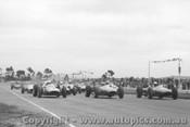 63510 - Start of the Victorian Trophy Race Calder 1963 - L. Davison Cooper Climax / B. Stillwell / D. McKay  Brabham Climax.