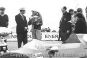 63513 -  L. Davison Cooper Climax  Winner of the Victorian Trophy Race Calder 1963