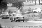 66020 - P. Donnelly and R. Lindsay  Renault R8 Gordini - Warwick Farm 1966 - Photographer Lance Ruting