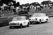 66021 - R. Haylen Morris Cooper S / D. Frazer Renault R8 Gordini - Catalina Park Katoomba 1966