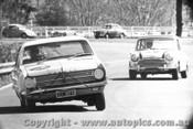 67035 - H. Taylor Holden X2 / H. Vines Morris Cooper S - Warwick Farm 1967