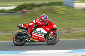 203306-  Troy Bayliss - Ducati - AGP Phillip Island 2003