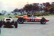72510 - Paul King Malmark Formula Vee - Phillip Island 1972