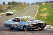 74729 -  J. Goss / K Bartlett  -  Bathurst 1974 -  1st Outright & Class D  winner - Ford Falcon XA-GT