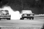 66022 - B. Stewart Holden FJ / A Boddenberg Chrysler Valiant - Warwick Farm 1966 - Photographer Lance Ruting