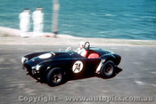67100 -  R. Thorp  AC Cobra  - Newcastle Hill Climb  9/9/1967