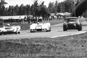 67458 - #23 T. Proctor Proctor Climax / #2 N. Allen Elfin Traco /  R. Thorp  AC Cobra  - Warwick Farm -  Feb. 1967 - Photographer David Blanch