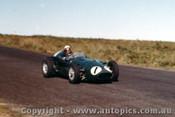 60507 - Lex Davison  Aston Martin - Phillip Island 23rd October 1960