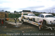 64030 - B. Jane EType and Mk 2 Jaguar - Sandown 1964