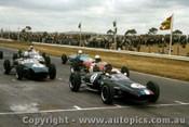 63518 - L. Geoghegan Lotus 22 / #4 R. Tresise Lotus - Calder 8/12/1963