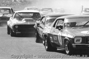 73093 - First Lap Sandown 1973 -  Jane Monaro /  Moffat Mustang / Gardner Camaro